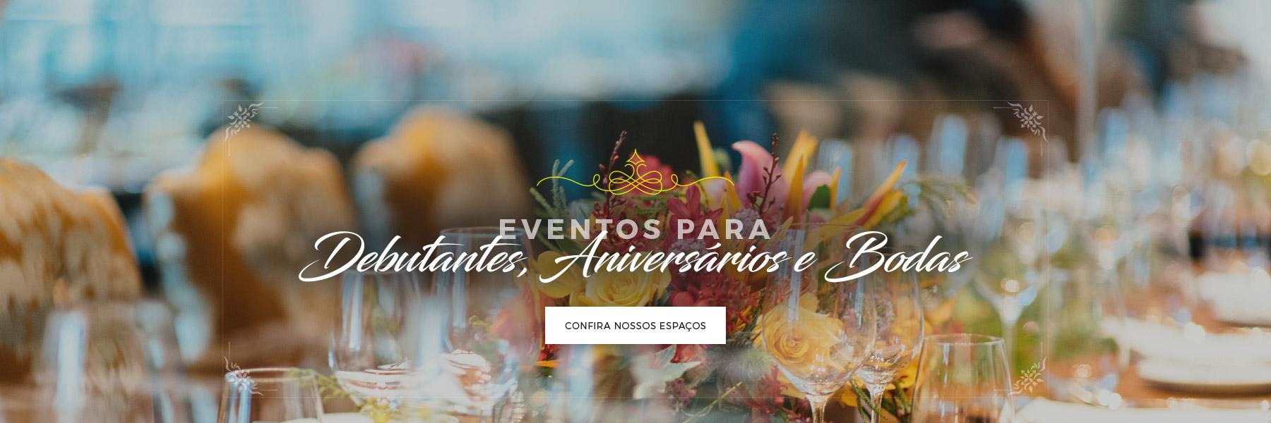 Banner eventos para debutantes
